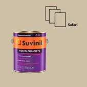TINTA ACRÍLICA FOSCO COMPLETO SAFARI - 3,6L SUVINIL