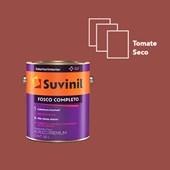 TINTA ACRÍLICA FOSCO COMPLETO TOMATE SECO - 3,6L SUVINIL