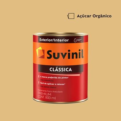 Tinta Acrílica Premium Clássica Açúcar Orgânico 800ml Suvinil