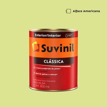 Tinta Acrílica Premium Clássica Alface Americana 800ml Suvinil