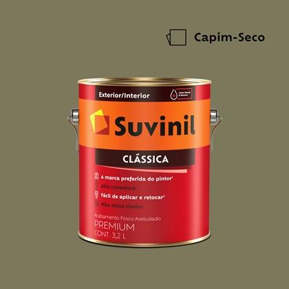Tinta Acrílica Premium Clássica Capim Seco 3,2L Suvinil