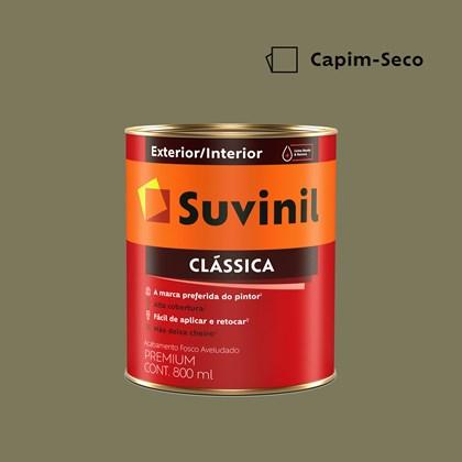 Tinta Acrílica Premium Clássica Capim Seco 800ml Suvinil