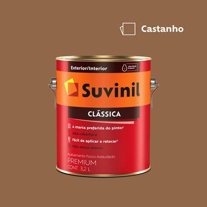 Tinta Acrílica Premium Clássica Castanho 3,2L Suvinil