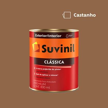 Tinta Acrílica Premium Clássica Castanho 800ml Suvinil