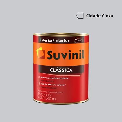 Tinta Acrílica Premium Clássica Cidade Cinza 800ml Suvinil