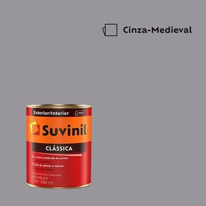 Tinta Acrílica Premium Clássica Cinza Medieval 800ml Suvinil