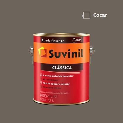 Tinta Acrílica Premium Clássica Cocar 3,2L Suvinil