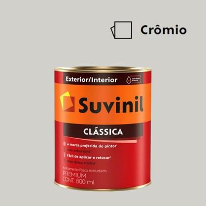 Tinta Acrílica Premium Clássica Crômio 800ml Suvinil