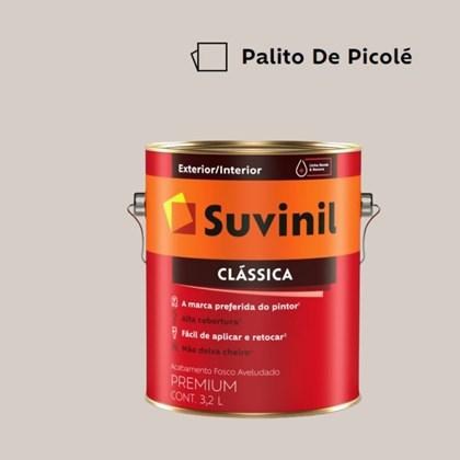 Tinta Acrílica Premium Clássica Fosco Aveludado Palito de Picolé 3,2L Suvinil