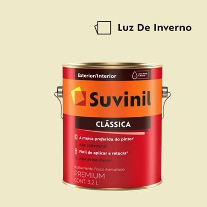 Tinta Acrílica Premium Clássica Luz de Inverno 3,2L Suvinil