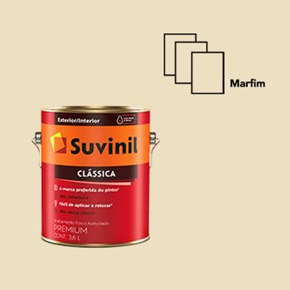 Tinta Acrílica Premium Clássica Marfim 3,6L Suvinil