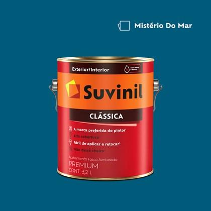 Tinta Acrílica Premium Clássica Mistério do Mar 3,2L Suvinil