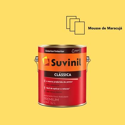 Tinta Acrílica Premium Clássica Mousse de Maracujá 3,2L Suvinil