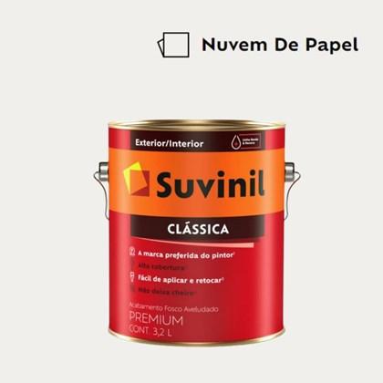 Tinta Acrílica Premium Clássica Nuvem de Papel 3,2L Suvinil