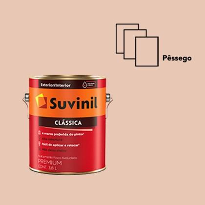 Tinta Acrílica Premium Clássica Pêssego 3,6L Suvinil