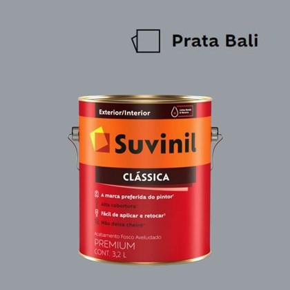Tinta Acrílica Premium Clássica Prata Bali 3,2L Suvinil