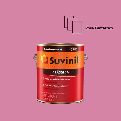 Tinta Acrílica Premium Clássica Rosa Fantástico 3,2L Suvinil
