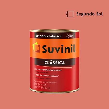 Tinta Acrílica Premium Clássica Segundo Sol 800ml Suvinil
