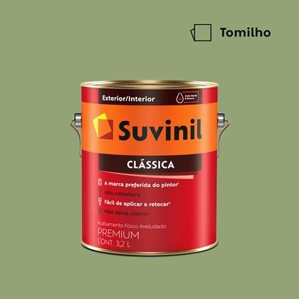 Tinta Acrílica Premium Clássica Tomilho 3,2L Suvinil