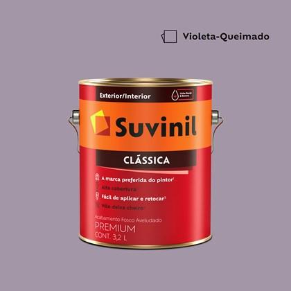 Tinta Acrílica Premium Clássica Violeta Queimada 3,2L Suvinil