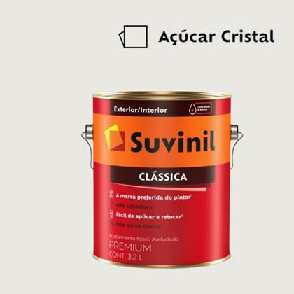 Tinta Acrílica Premium Fosco Aveludado Clássica Açúcar Cristal 3,2L Suvinil
