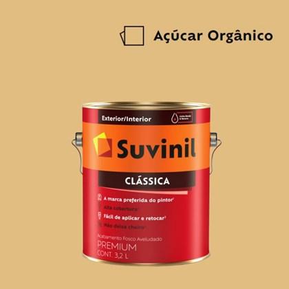 Tinta Acrílica Premium Fosco Aveludado Clássica Açúcar Orgânico 3,2L Suvinil