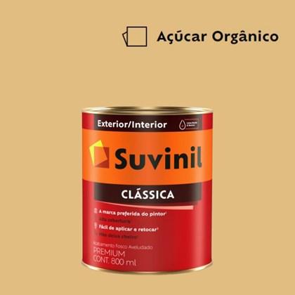 Tinta Acrílica Premium Fosco Aveludado Clássica Açúcar Orgânico 800ml Suvinil