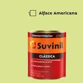 Tinta Acrílica Premium Fosco Aveludado Clássica Alface Americana 800ml Suvinil