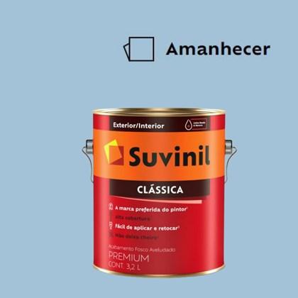 Tinta Acrílica Premium Fosco Aveludado Clássica Amanhecer 3,2L Suvinil