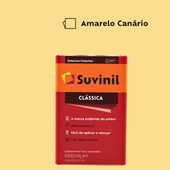 Tinta Acrílica Premium Fosco Aveludado Clássica Amarelo Canario 18L Suvinil