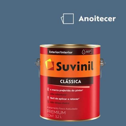 Tinta Acrílica Premium Fosco Aveludado Clássica Anoitecer 3,2L Suvinil