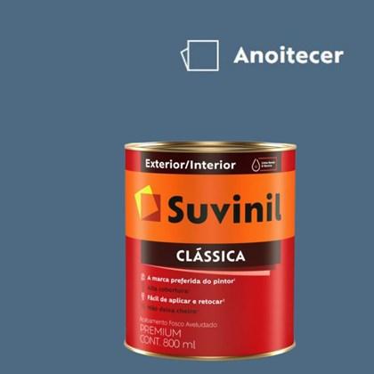 Tinta Acrílica Premium Fosco Aveludado Clássica Anoitecer 800ml Suvinil
