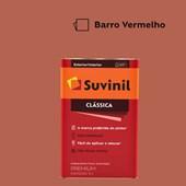 Tinta Acrílica Premium Fosco Aveludado Clássica Barro Vermelho 16L Suvinil