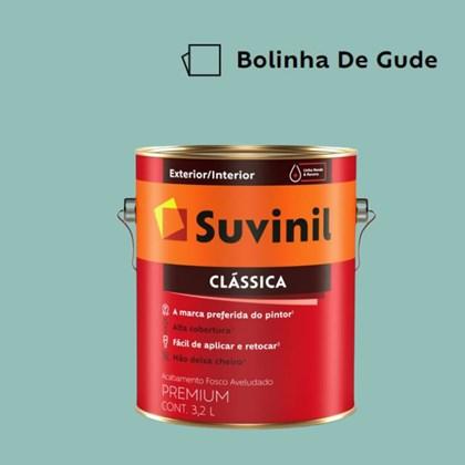 Tinta Acrílica Premium Fosco Aveludado Clássica Bolinha de Gude 3,2L Suvinil