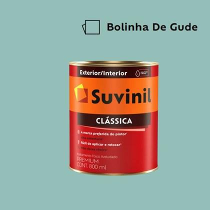 Tinta Acrílica Premium Fosco Aveludado Clássica Bolinha de Gude 800ml Suvinil
