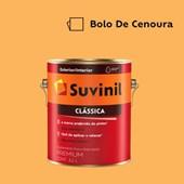 Tinta Acrílica Premium Fosco Aveludado Clássica Bolo de Cenoura 3,2L Suvinil