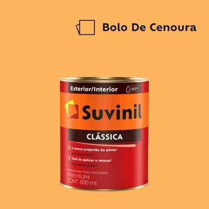Tinta Acrílica Premium Fosco Aveludado Clássica Bolo de Cenoura 800ml Suvinil