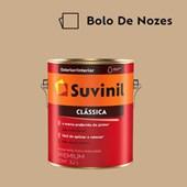 Tinta Acrílica Premium Fosco Aveludado Clássica Bolo de Nozes 3,2L Suvinil