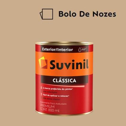 Tinta Acrílica Premium Fosco Aveludado Clássica Bolo de Nozes 800ml Suvinil