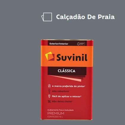 Tinta Acrílica Premium Fosco Aveludado Clássica Calçadão de Praia 16L Suvinil