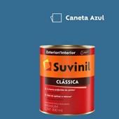 Tinta Acrílica Premium Fosco Aveludado Clássica Caneta Azul 800ml Suvinil