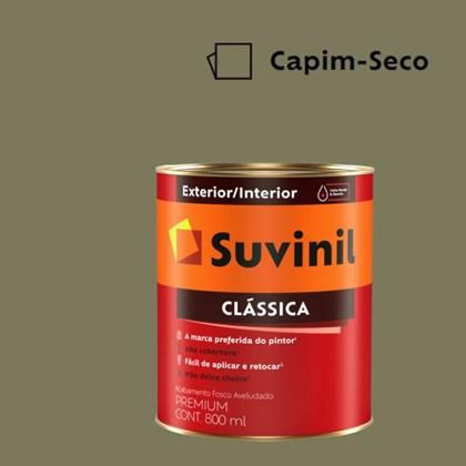 Tinta Acrílica Premium Fosco Aveludado Clássica Capim Seco 800ml Suvinil