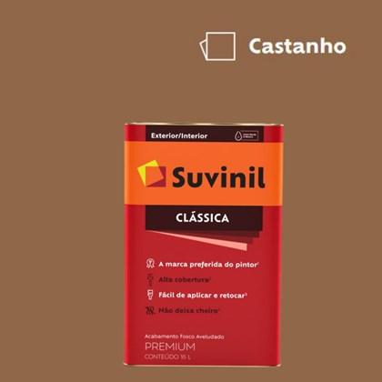 Tinta Acrílica Premium Fosco Aveludado Clássica Castanho 16L Suvinil