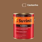Tinta Acrílica Premium Fosco Aveludado Clássica Castanho 3,2L Suvinil