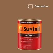 Tinta Acrílica Premium Fosco Aveludado Clássica Castanho 800ml Suvinil