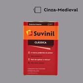 Tinta Acrílica Premium Fosco Aveludado Clássica Cinza Medieval 16L Suvinil