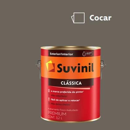Tinta Acrílica Premium Fosco Aveludado Clássica Cocar 3,2L Suvinil