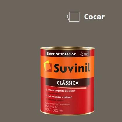 Tinta Acrílica Premium Fosco Aveludado Clássica Cocar 800ml Suvinil