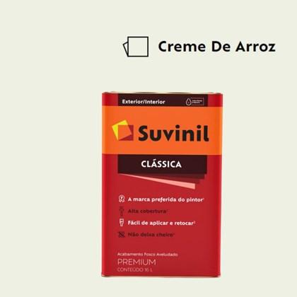 Tinta Acrílica Premium Fosco Aveludado Clássica Creme de Arroz 16L Suvinil