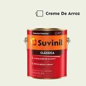 Tinta Acrílica Premium Fosco Aveludado Clássica Creme de Arroz 3,2L Suvinil